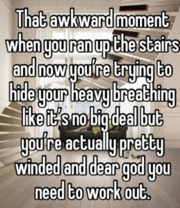 ran up the stairs and winded dr heckle funny wtf memes